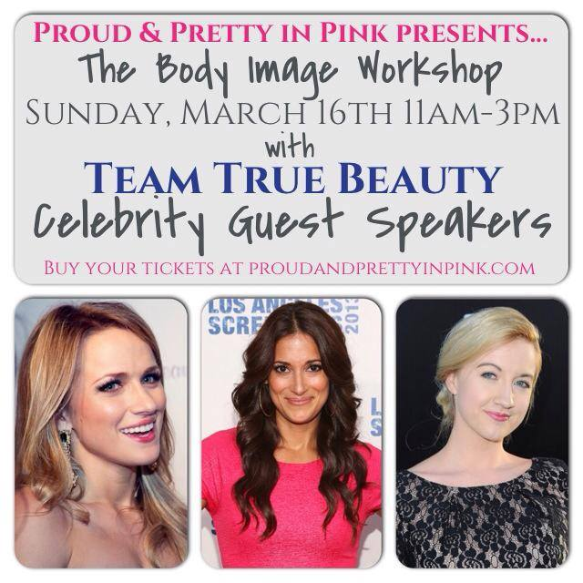 Proud and Pretty in Pink Body Image Workshop