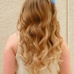 Loose, long waves and a cute bow!