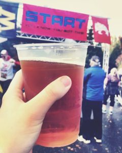 Free beer at the finish line? Thats my kinda race!hellip