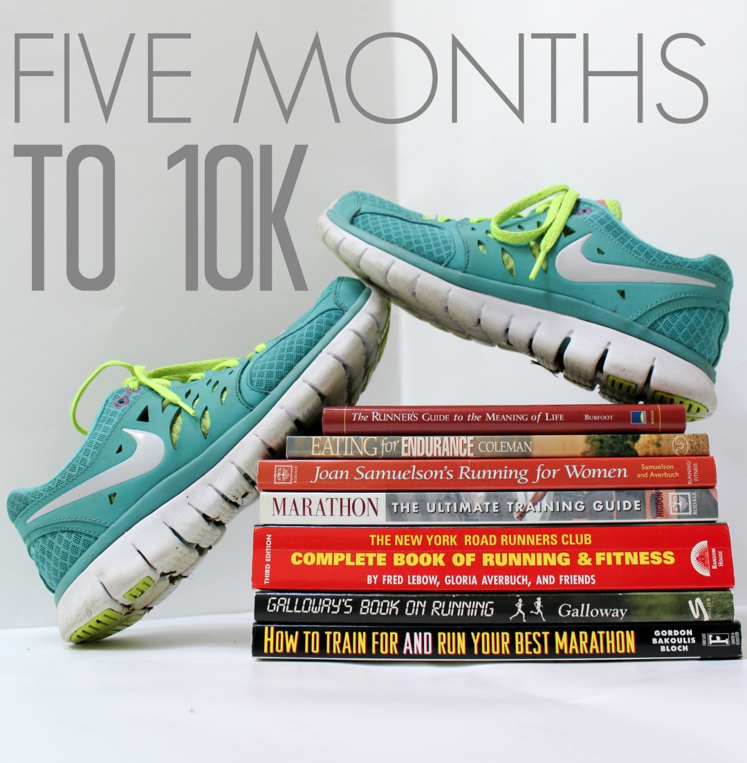 5 months to 10k running series
