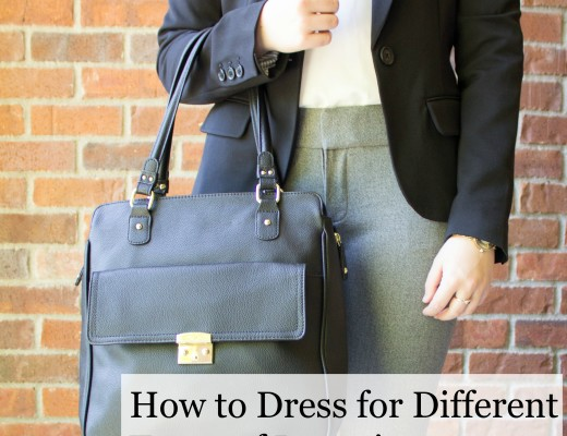 How to dress for different types of interviews from casual to corporate to classic