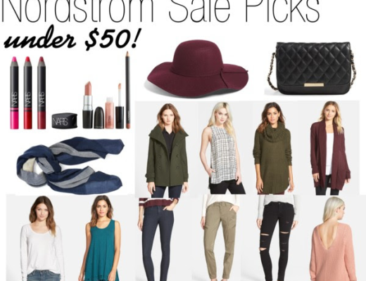 Norstrom Sale Picks under $50