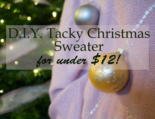 Value Village Tacky Christmas Sweater DIY-14